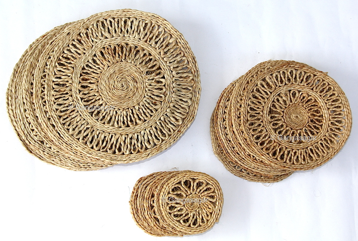 Jute Table Coasters